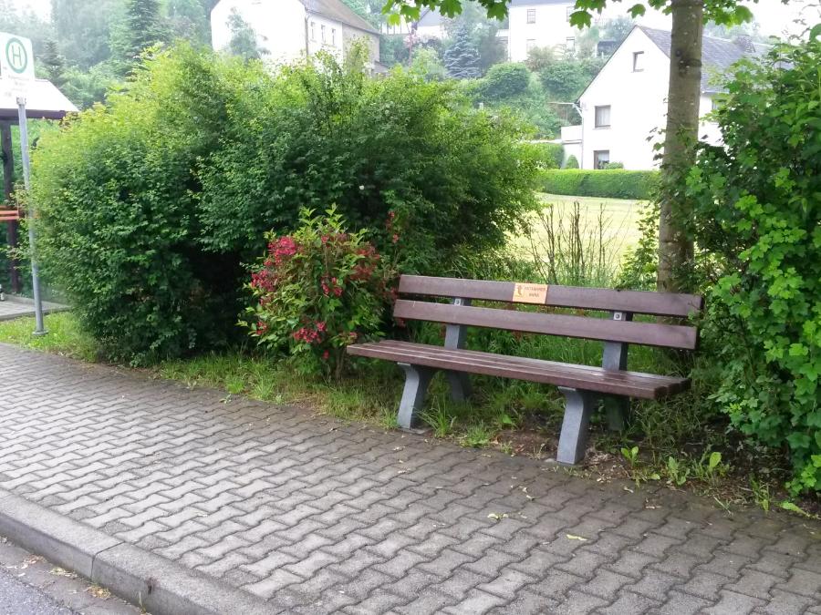 Mitfahrerbank in Ehr